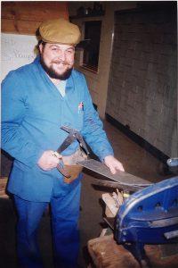 1989 Firmengründer Erwin Zankl