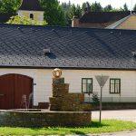 Faserzement Rhombus Schablone 40 x 44 schw.